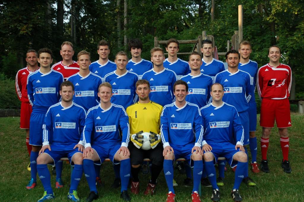 Mannschaftsfoto 2013/14 I Mannschaft