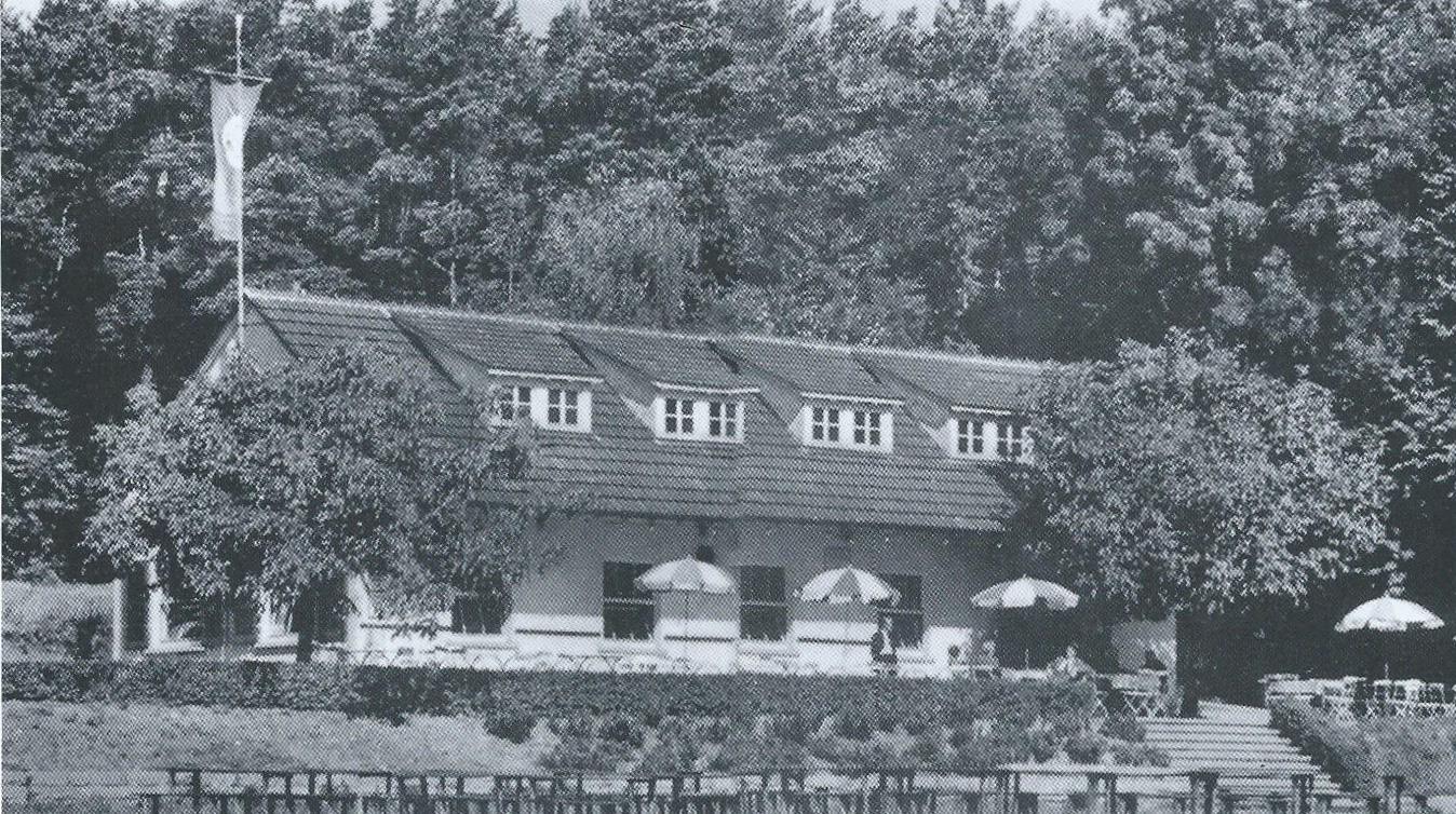 TSV RSK Esslingen Sportplatz Vereinsheim 1960