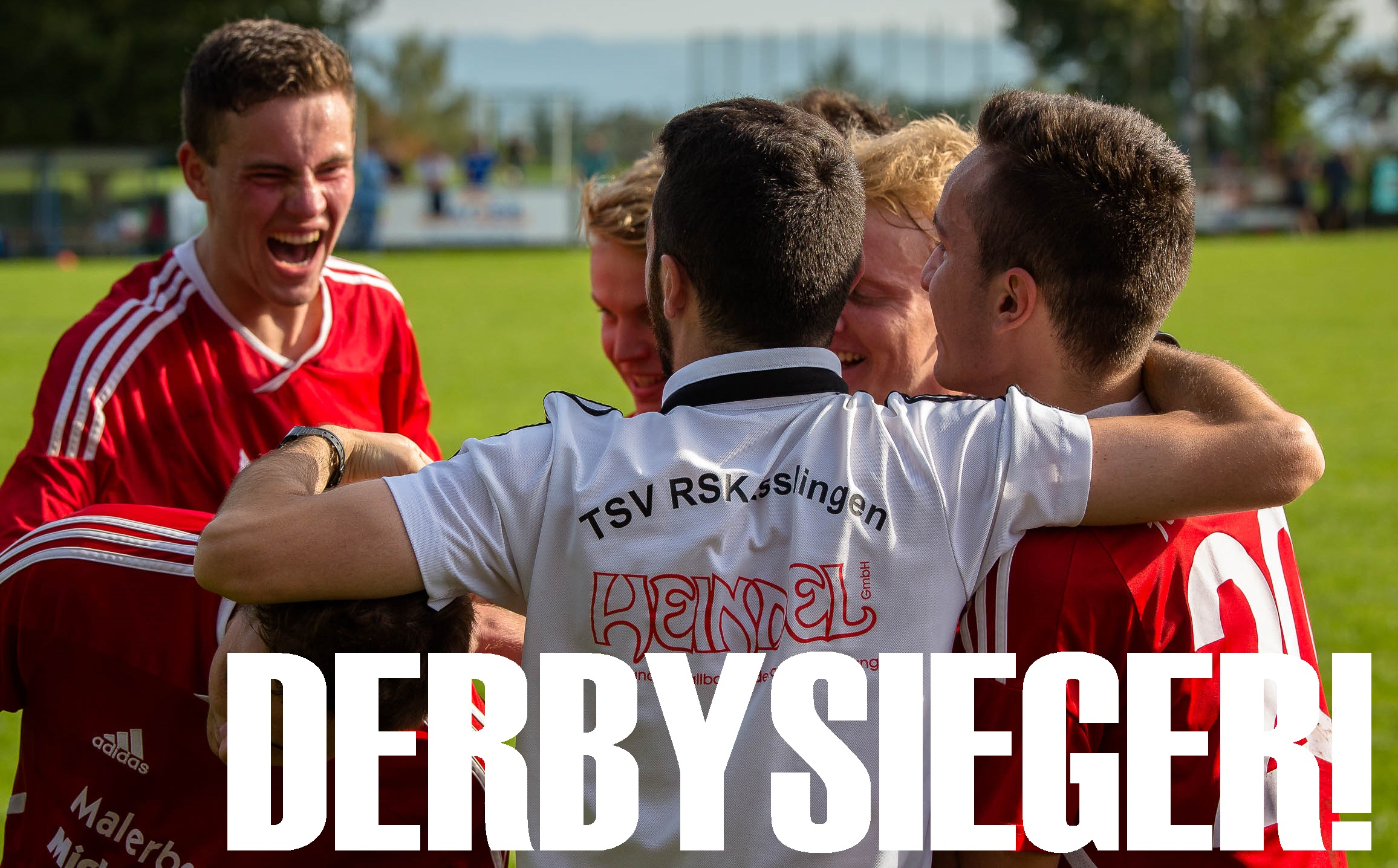 2014.09.28 Derbysieger 1 Jubel
