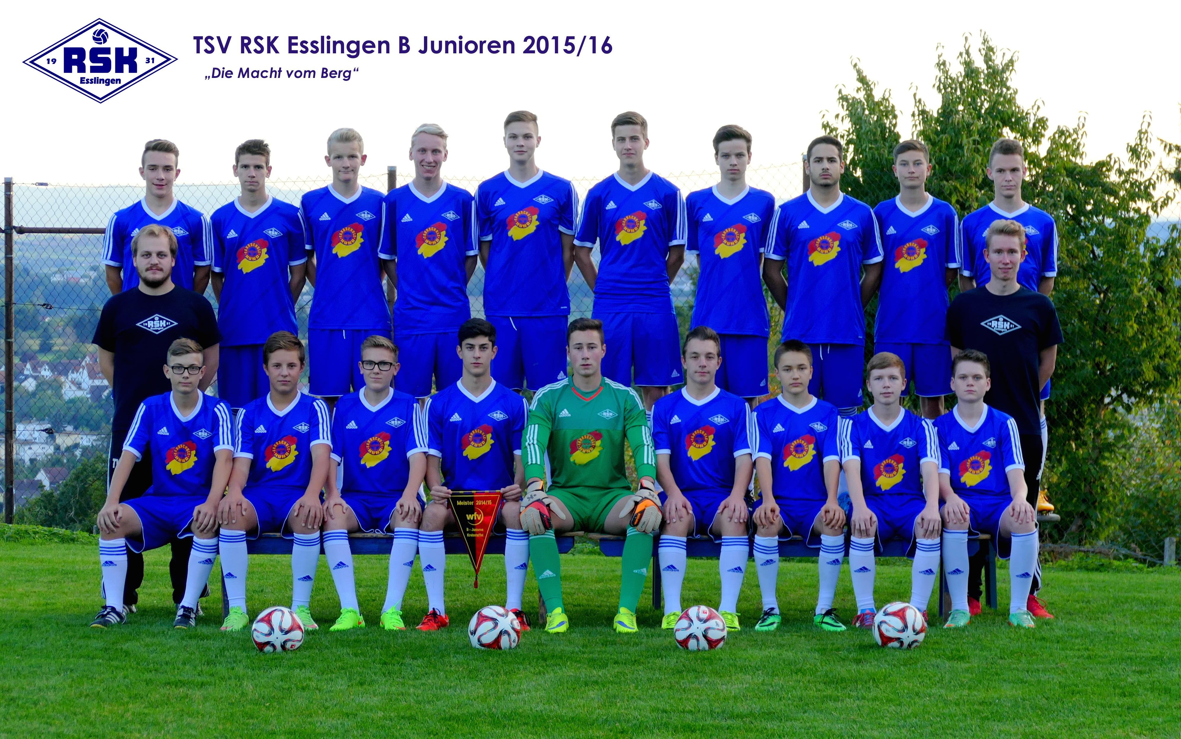B Junioren 2015-16