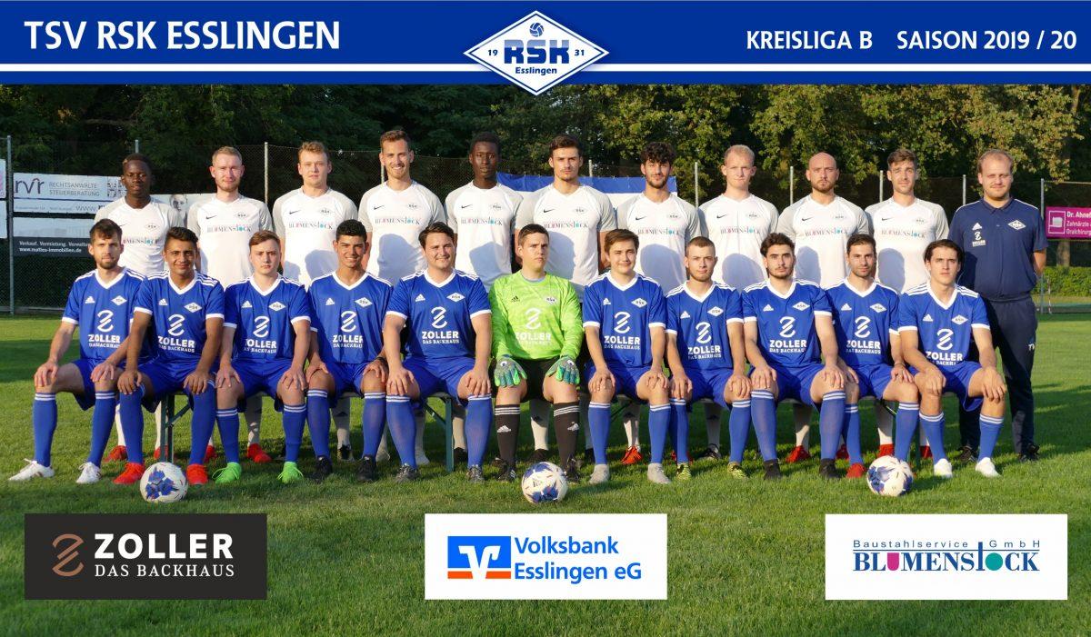 Team zweite Mannschaft 2019/20