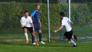 Torschütze zum 1:0 Maurice Regber