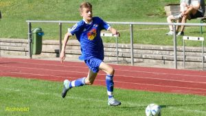 U15 Torschütze: Nico Levacic