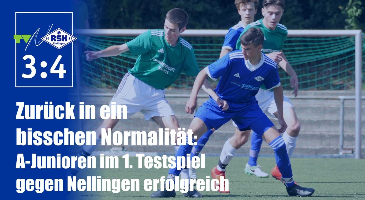 Testspiel A-Junioren RSK - Nellingen