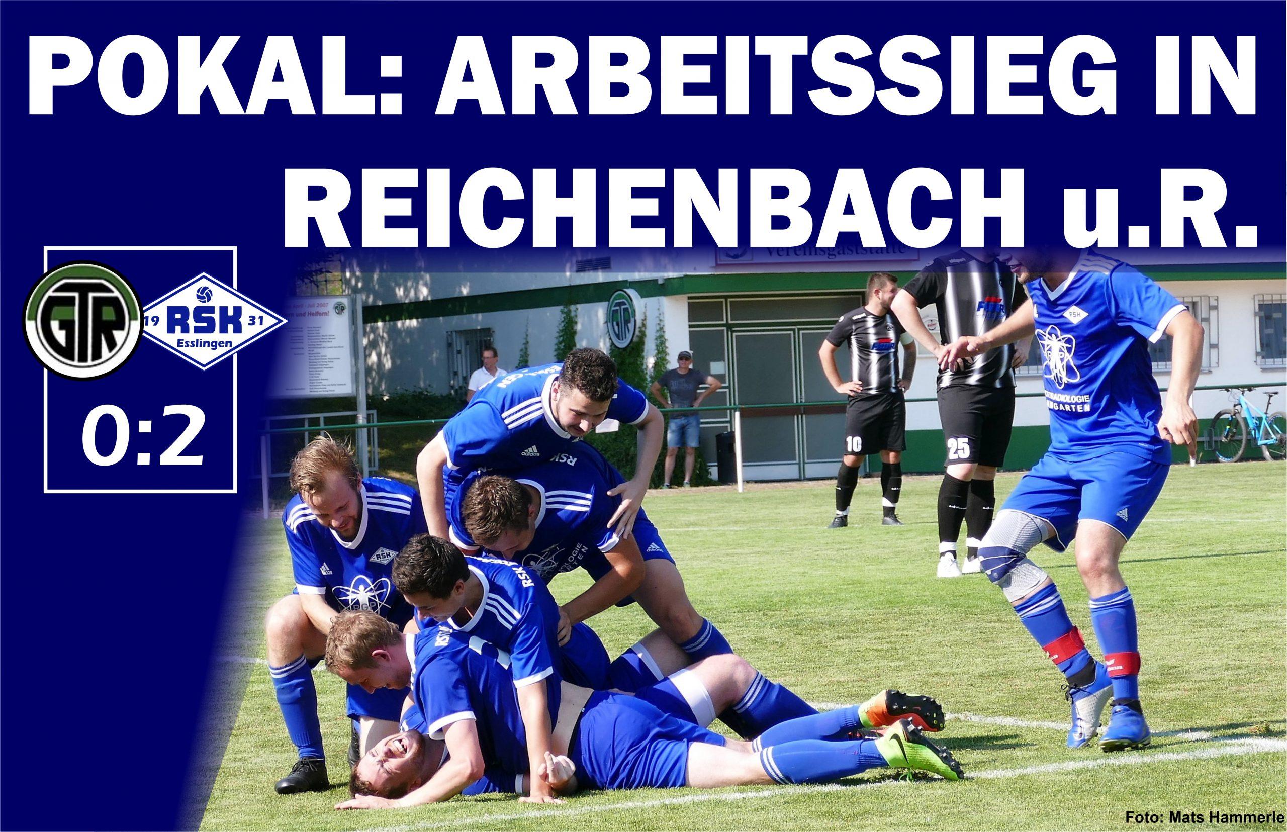 Pokalspiel Erste gegen Reichenbach